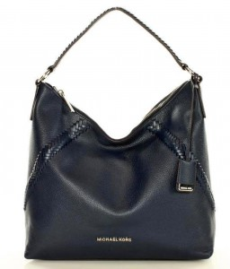 Torebka  MICHAEL KORS - KARSON LEATHER - NAVY