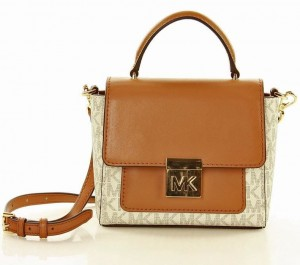 Torebka MICHAEL KORS - satchel  - VANILA ACCORN